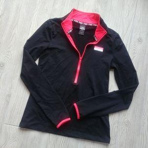 (M) VS PINK Ultimate half zip jacket!
